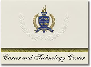 Signature Announcements Career and Technology Center (Welch, WV) Graduation Announcements, Presidential style, Elite packa...