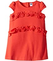 Short Sleeve Ruffle Dress (Toddler/Little Kids/Big Kids)
