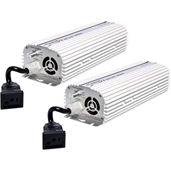 Quantum 2 1000 Watt Dimmable Electronic Grow Light Ballast No Power Cords