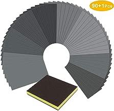 36-Sheet MICRO-MESH Sanding for Wood Finishing Polishing Sheets 9 x 3.6 Inch
