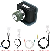 Grisun 7628 Igniter Kit for Genesis 310 and 320 Gas Grills, 2011 & Newer (Front Mounted Control Panel) Electronic Igniter, Electrodes Ignitions Kit Weber Genesis 300 Series Gas Grill