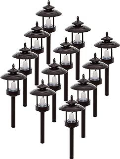 Westinghouse 12 Pack 100 Lumen Low Voltage LED Pathway Light Landscape Lights (Bronze)