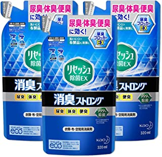 【まとめ買い】リセッシュ 除菌EX 消臭ストロング 詰替用 320ml × 3個