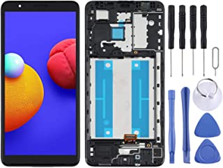 SHUHAN Mobile Phone Replacement Part LCD Screen and Digitizer Full Assembly With Frame for Samsung Galaxy A01 Core SM-A013...