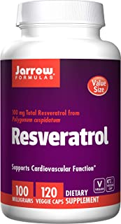 Jarrow Formulas Resveratrol. 100Mg - 120 Vcaps 120 unidades 120 g