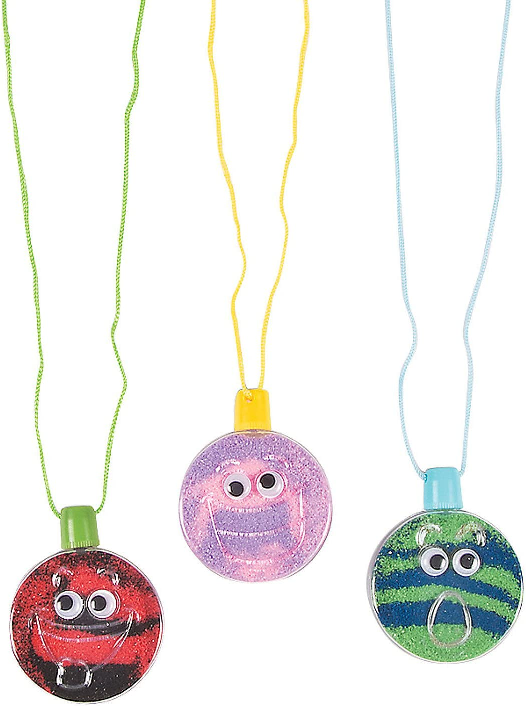 Wiggle Eye Sand Art Necklace - Crafts Home specialty shop and Kids Fun Popular products for Acti