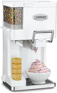 クイジナート ソフトクリームメーカー Cuisinart Ice-45 Mix Ice Cream Maker (ホワイト) 並行輸入品 [並行輸入品]