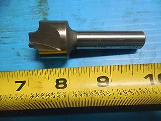 RH Cut 0.014 Chamfer Weldon Shank HSS-PM WIDIA Hanita TC6A1R13005 High Performance 6A0R HP Roughing End Mill 0.5 Cutting Diameter 3-Flute TiCN
