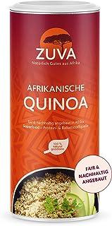 ZUVA Afrikanische weiße Quinoa: Reich an Proteinen und Ballaststoffen, das Premium Superfood aus Afrika 400g, 5er Pack