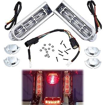 -Chrome 6 inch LED SEDAN Door mount spotlight 2006 Pontiac SUNFIRE 4DR Driver side WITH install kit