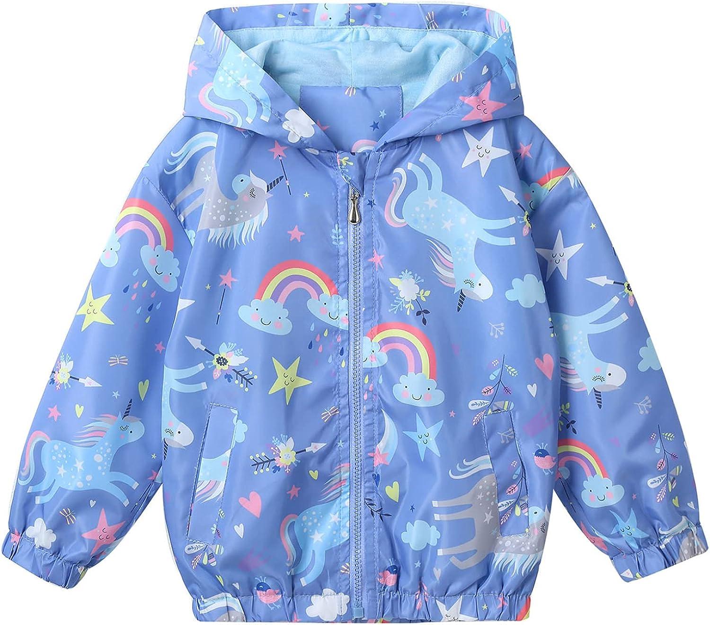 Kaerm Kids Year-end annual account Girls Boys Zip Hooded Co Rash Waterproof Jacket Guard Cheap bargain