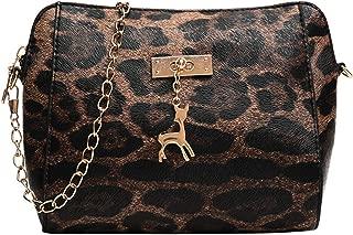 Leopard Bags For Women Luxury Handbags Women Bags Designer Flap Leather Crossbody Shoulder Bags