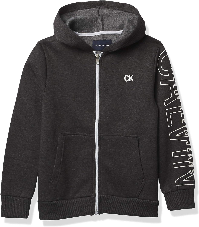 Calvin Klein Boys' Fleece Hoodie
