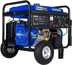 DuroMax XP8500E, 7000 Running Watts/8500 Starting Watts, Gas Powered Portable Generator