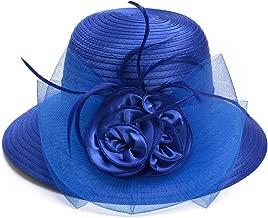 Best royal blue church hat Reviews
