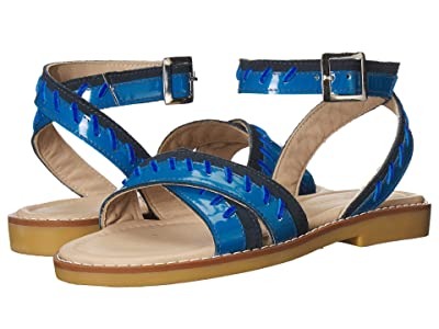 Elephantito Antibes Sandal (Toddler/Little Kid/Big Kid) (Blue) Girls Shoes