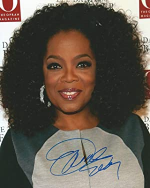 Photo Oprah Winfrey Autograph Signed 8 x 10
