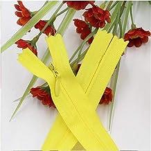 Jinggege 1pcs 3# Long Invisible Plastic Naaien Zipper Zip 28 35 40 45 50 55 60 Cm DIY Nylon Coil Ritsen ritsen for het naa...