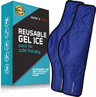 Cold Therapy Gel Pack – Ice Pack for Neck and Shoulders (23 x 8 x 5 Inch –..