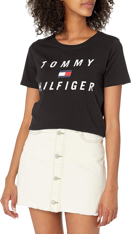 Tommy Hilfiger Women's Premium Performance Short Sleeve Crew Neck T-Shirt