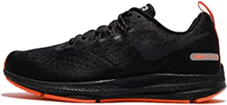 Nike Womens Air Zoom Winflo 4 Shield Running Shoe Black/Anthracite-Anthracite 8.5