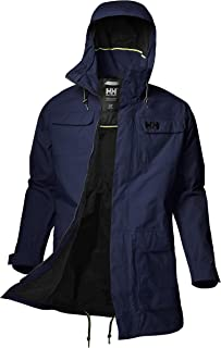 hooded rain parka
