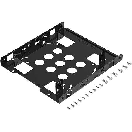 Sabrent 2.5→3.5インチ変換、HDD/SSDマウンタ (BK-HDDH)