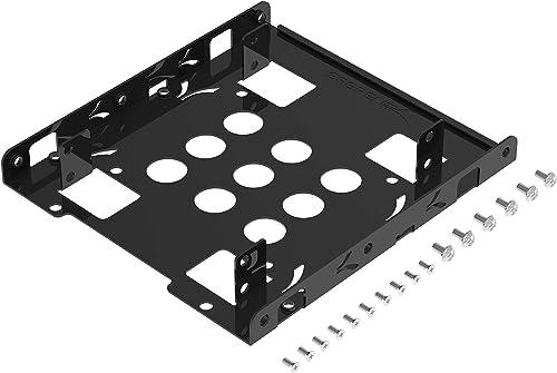 Sabrent 2.5 Inch to 3.5 Inch Internal Hard Disk Drive Mounting Bracket Kit (BK-HDDH)