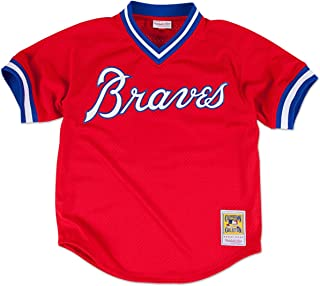Mitchell & Ness Dale Murphy Atlanta Braves MLB 1980 Authentic Mesh BP Jersey