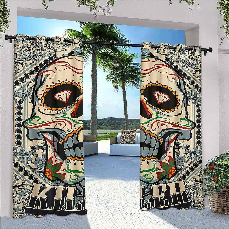Sugar Popular SkulWaterproof Gazebo Curtains Fra Killer Philadelphia Mall Calaveras