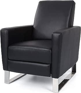 Christopher Knight Home 308818 Arvin Push Back High Leg Recliner, Black