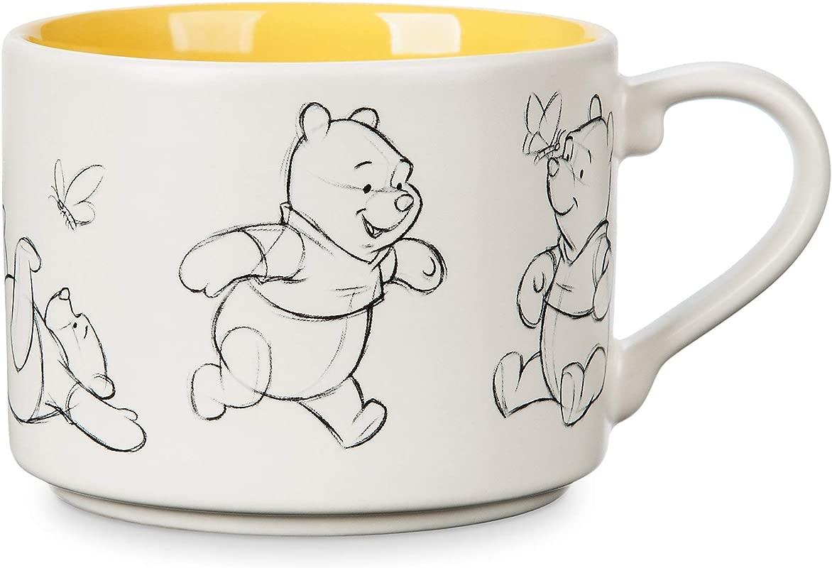 Disney Winnie The Pooh Animation Sketch Mug