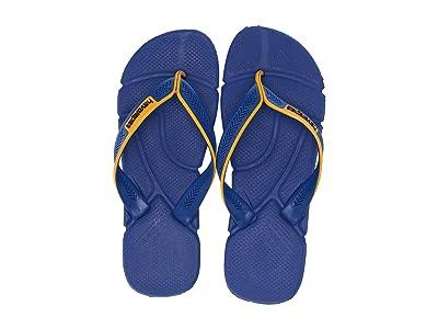 Havaianas Power Flip Flops (Marine Blue) Men