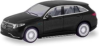 herpa 038966 Mercedes-Benz EQC AMG, matt Black Miniature for Craftsmen and Collectors
