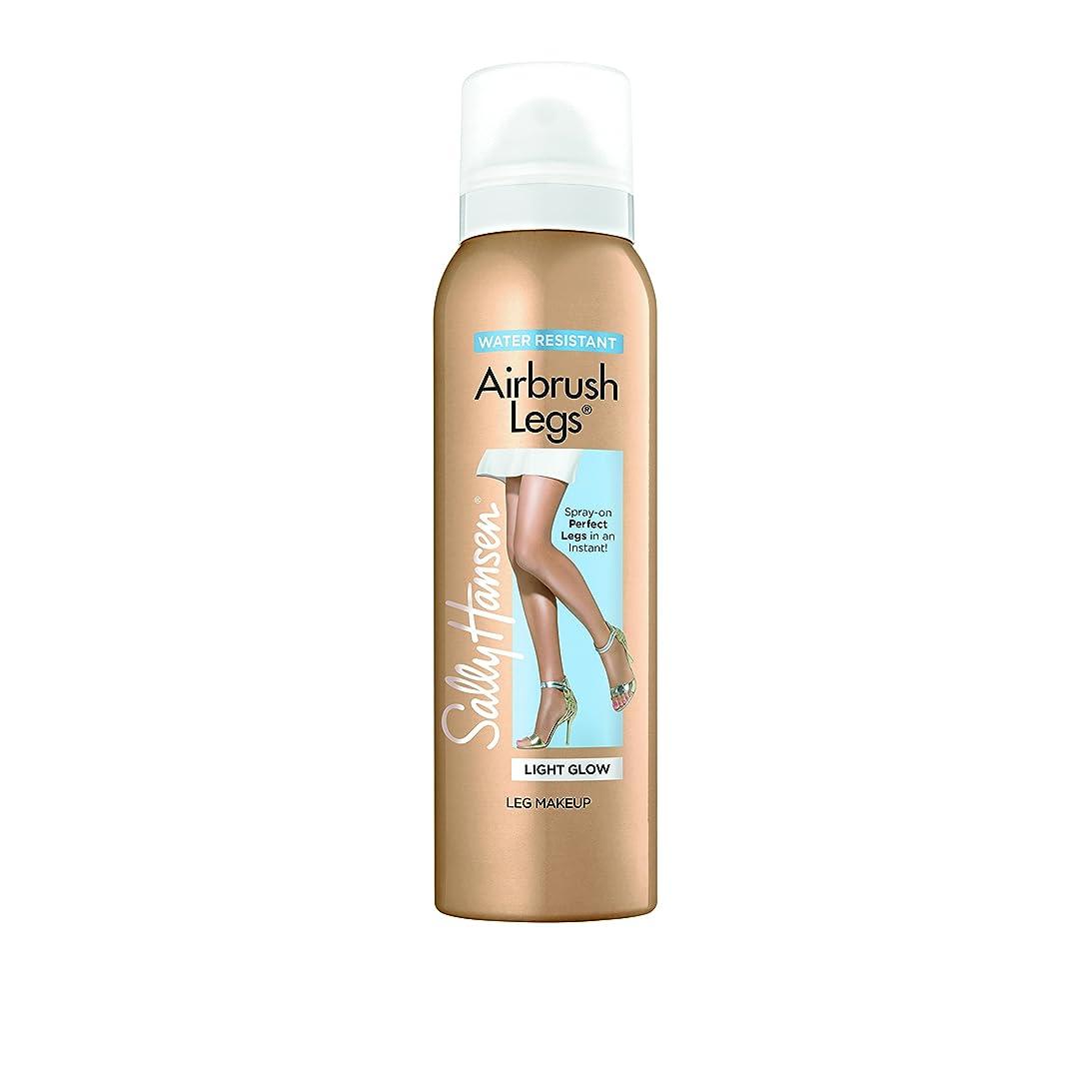 アライメント敬の念下にサリー?ハンセン SALLY HANSEN Airbrush Legs Water Resistant-Light Glow