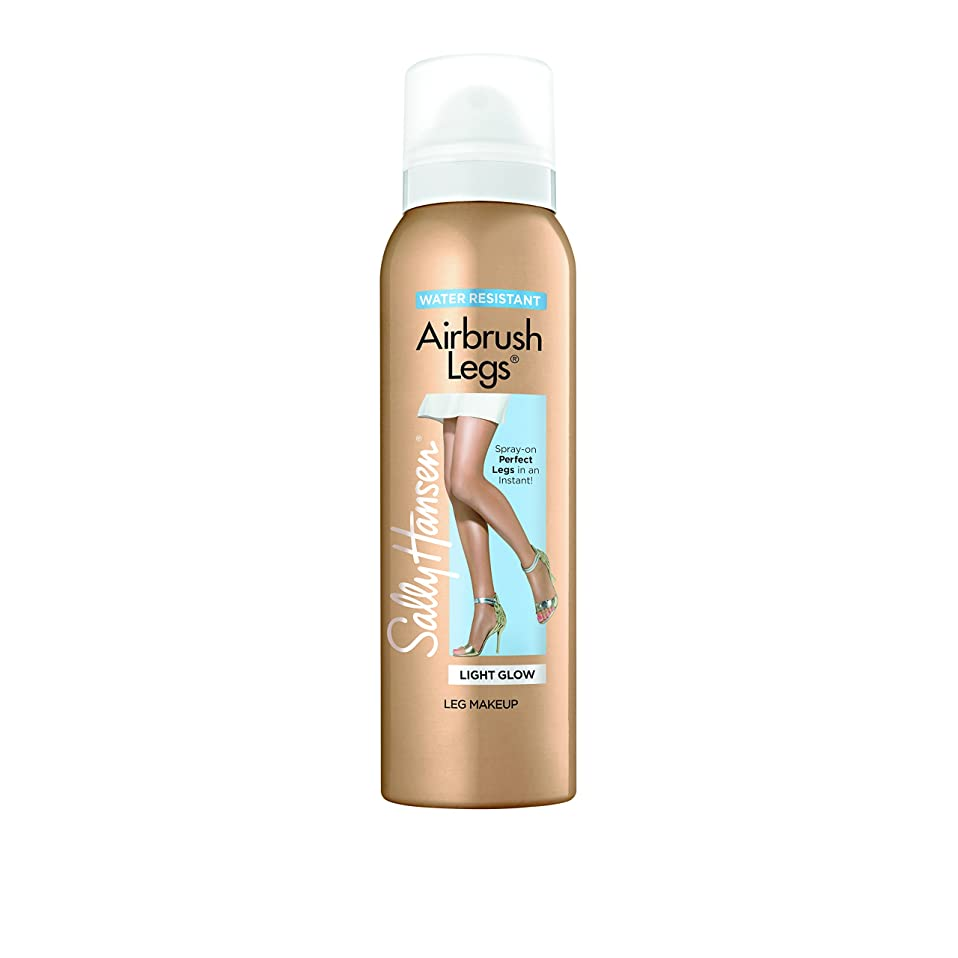 平衡痛み最終的にサリー?ハンセン SALLY HANSEN Airbrush Legs Water Resistant-Light Glow