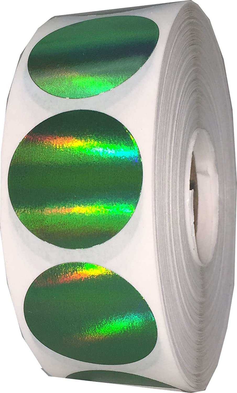Green Holographic Color 35% OFF Coding Labels Inventory for Tulsa Mall Organizing 1