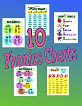 Ten Systematic Phonics Charts (Learning to Read in America Teaching Aids Book 1)