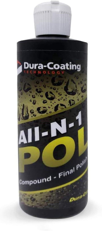 Dura-Coating All-N-1 Car Polish 16 oz. an Glazes Max 65% OFF Ranking TOP10 Cleans –