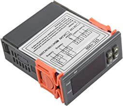 BIlinli Minuterie de contr/ôleur de temp/érature du Thermostat 220V 10A de Sauna num/érique avec la sonde de NTC