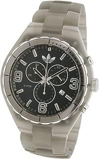 Adidas Nylon Cambridge Chronograph Black Dial Men's watch #ADH2565