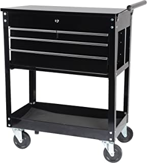 JEGS 81410 4-Drawer Tool Box Cart