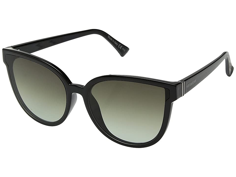 VonZipper Fairchild (Black/Gradient) Athletic Performance Sport Sunglasses