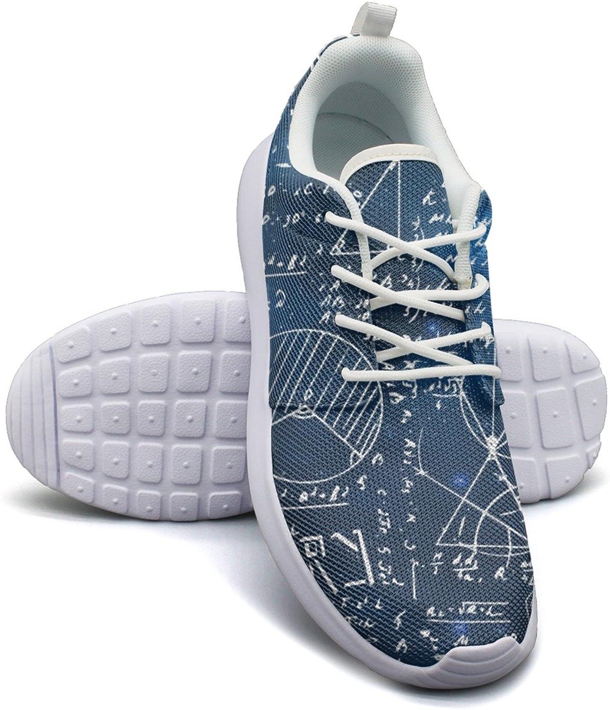 ERSER Math Geometri Formel för för för tillfälliga springaning skor män Gym springaning skor  fabriks direktförsäljning