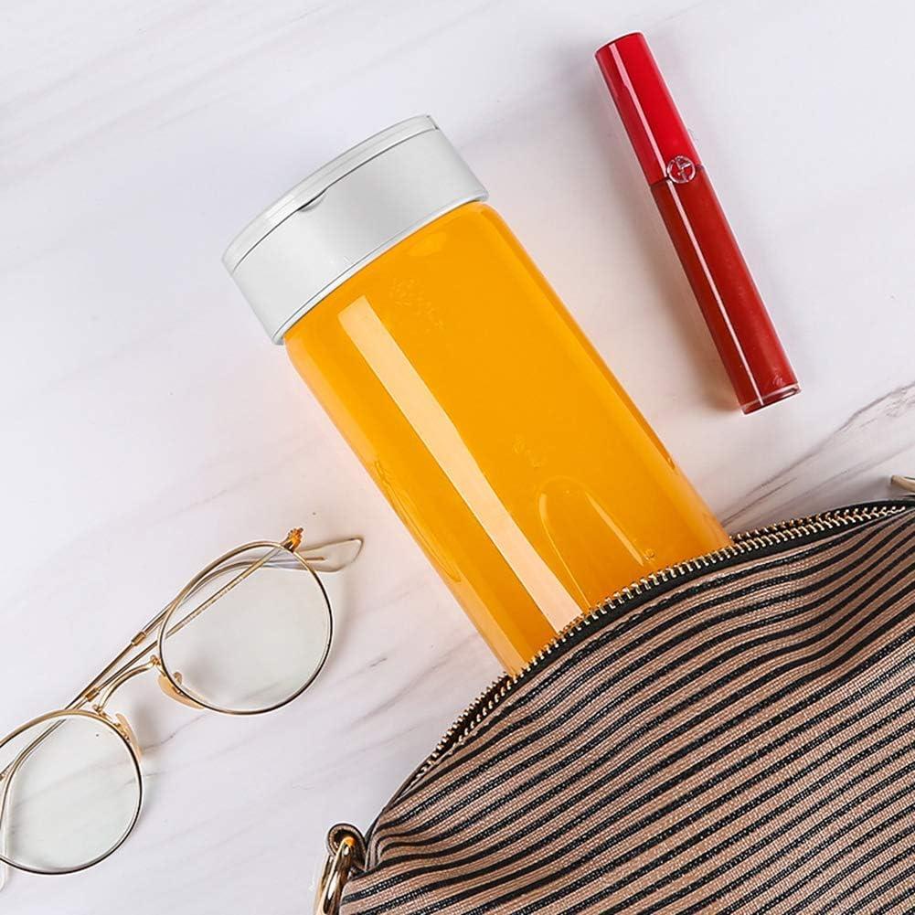 zyl Mélangeur Portable Mini Tasse Rechargeable USB mélangeur Portable Tasse de Presse-Agrumes personnelle Petit mélangeur pour jus de Fruits et Smoothie White