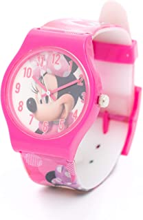 Disney Minnie Girls Analog Dial Wristwatch - TT1062 C