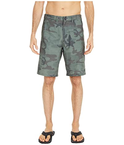 Billabong Crossfire Slub 21 Submersible Shorts (Miltary Camo) Men
