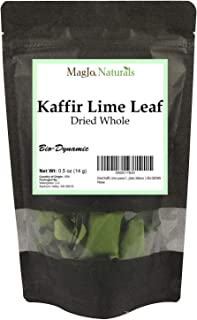 Dried Kaffir Lime Leaves from Citrus Hystrix plant, Makrut   USA GROWN   .5 Ounce