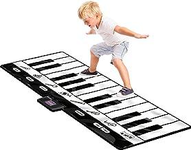 Click N' Play Gigantic Keyboard Play Mat, 24 Keys Piano Mat, 8 Selectable Musical Instruments + Play -Record -Playback -Demo-mode