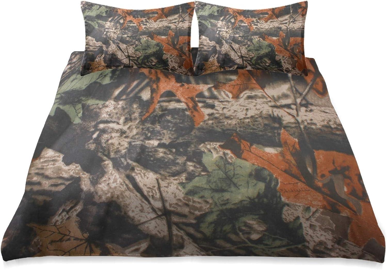 Unimagic Vintage Tree Camouflage Comforter Set King Great Max 69% OFF interest Size Bedding